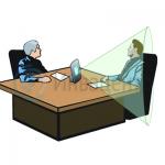 Переносная индукционная (информационная) петля для инвалидов по слуху