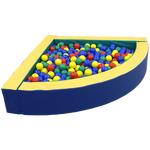 Сухой бассейн угловой FW-стандарт 150*150*50 см