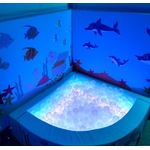 Световой мягкий уголок с сухим бассейном FW 150*150*50 см