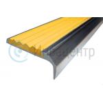 Противоскользящий алюминиевый угол-порог 42/23 мм