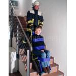 Эвакуация инвалидов при пожаре, с помощью эвакуатора Evac Skate