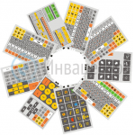 Клавинта, набор накладок на клавиатуру сенсорную