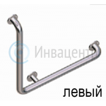 Угловой поручень Г-образный 600*900 мм 90° нерж . сталь d-3