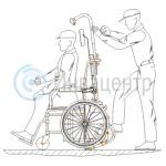 Установка кресла-коляски на подъемник Пума Уни