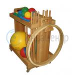 Гимнастическая тележка для инвалидов