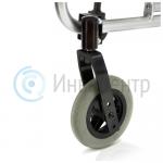 Передние колеса с цельнолитыми шинами