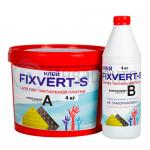 Клей для тактильной плитки FIXVERT-S ПВХ, сталь 2-х компонентный 4 кг