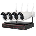 Комплект видеонаблюдения INV-WS4: 4 камеры + ресивер с экраном