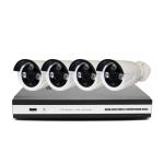Готовый комплект INV-W4 проводного видеонаблюдения: 4 камеры + ресивер