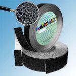 Противоскользящая лента абразивная SlipStop 80 grit 25мм/18м черная