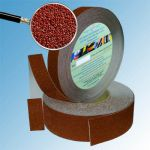 Противоскользящая лента абразивная SlipStop 80 grit 25мм/18м коричневая