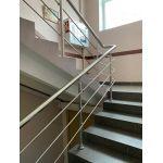 Перила сборные для лестниц с 3-мя ригелями Тип-1