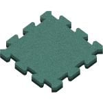 Резиновая плитка Пазл 500x500x40 мм