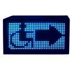 Световой маяк Синее свечение 370x370 мм