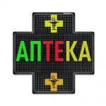 Светодиодный аптечный крест P10 960x960 двухсторонний полноцветный