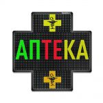 Светодиодный аптечный крест P10 960x960 односторонний полноцветный