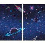 Комплект светонепроницаемых штор Сказочные звезды