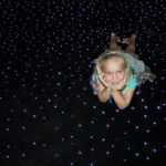 Напольный ковер «Звездное небо» 200x200 см