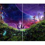 Комплект светонепроницаемых штор Удивительная планета