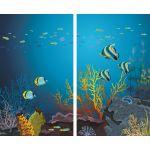 Комплект светонепроницаемых штор Подводный мир