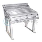 Скамья для инвалидов малая 600*600*430 мм. Пластиковые рейки