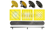 Тактильная плитка и тактильные указатели (навигаторы) для инвалидов по зрению