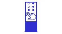 Тактильно-сенсорные терминалы для инвалидов