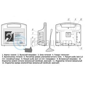 Схема управления информационной (индукционной) системой Исток А2