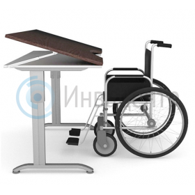 Регулируемый стол для инвалидов-колясочников Care