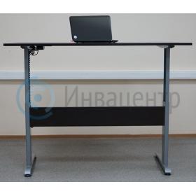 стол с микролифтом duo поднятый