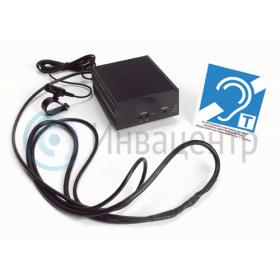 индукционная система для инвалидов с нарушением слуха встраиваемая в терминал сенсорный
