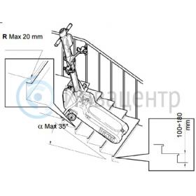 Параметры ступеней для подъемника t09 roby
