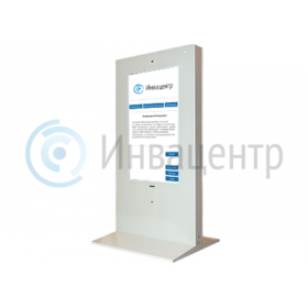 Сенсорный информационный терминал 55 дюймов с ПО для инвалидов и индукционной системой и ассистивной клавиатурой