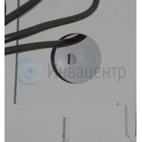 Технологическое окно крепления в пол информационного терминала для инвалидов с индукционной катушкой для инвалидов по слуху