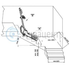 Требования к ступеням и разворотной площадки для t09 roby