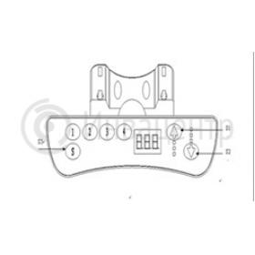 схема панели управления столом ZWE0222