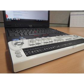 Braille EDGE 40 в паре с ноутбуков