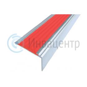 Алюминиевый угол Стандарт красный