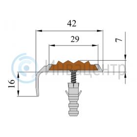 Схема угла-порога - 42-23 мм
