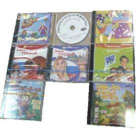CD диски с компьютерными программами (8 шт.), входят в состав коррекционного комплекса Делон