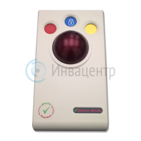 Беспроводной компьютерный роллер Trackball SimplyWorks