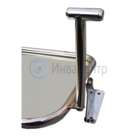 Зеркало травмобезопасное для инвалидов с поворотным механизмом