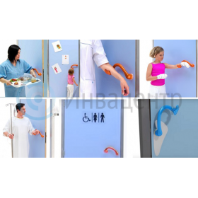 Удобство использования дверных ручек Ulna различными категориями граждан