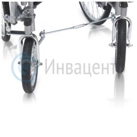 Поворотные передние колеса