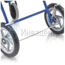 Задние колеса с тормозом