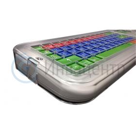 Клавиатура Clevy беспроводная с большими кнопками и накладкой