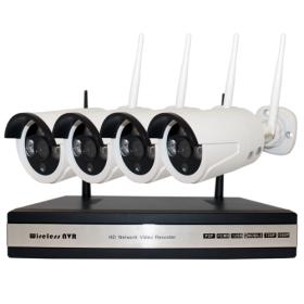 Комплект видеонаблюдения INV-WS4: 4 камеры + ресивер