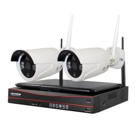 Комплект видеонаблюдения INV-WS2: 2 камеры + ресивер с экраном