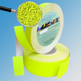 Противоскользящая лента абразивная AntiSlip 60 grit 25мм/18м ярко-желтая