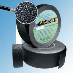 Водоотталкивающая виниловая лента 25мм/18м черная